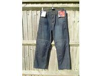 Motorcycle Biker Kevlar Jeans 32 Waist 30.5 Inside Leg