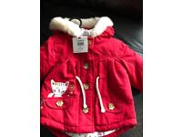 Girls 0-3 month Jacket BNWT