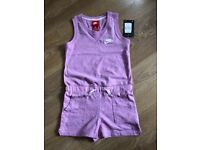 Girls Nike Playsuit age 6-7 years new with tags