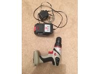 Cordless Drill charger and battery