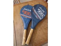 2 x Jaguar Tennis Rackets, £20