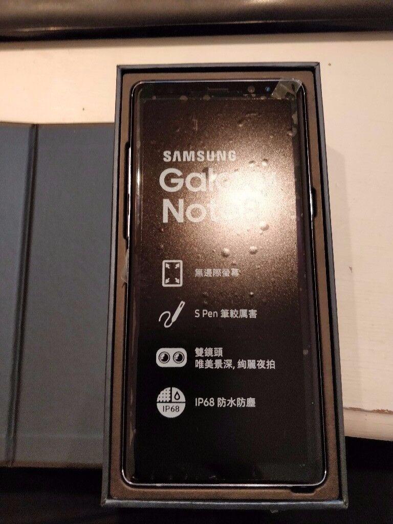 Orchid Gray Samsung Galaxy Note 8 6GB Ram 64GB Dual Sim SIM FREE