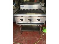 Blue seal chargrill gas 90cm