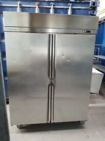 Electrolux commercial double door fridge stainless steel not foster Williams perfectly working