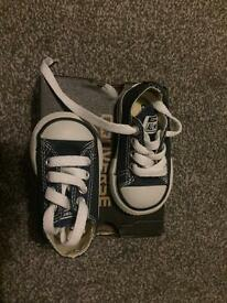 Infant size 2 converse BRAND NEW