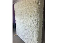 Flower Wall Backdrop Hire **Double Sided** Flowerwall