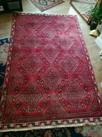 handmade wool Persian carpet