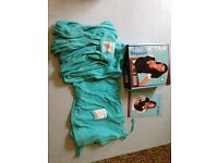 Baby K'tan breeze carrier / sling, size M, teal colour