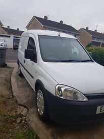 **Bargain** Vauxhall Combo Van Excellent Condition FSH & Full Professional Racking