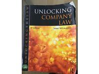 Unlocking company law 3rd edition