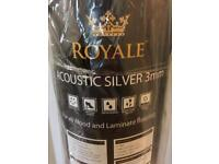 Acoustic Silver Underlay for Wood/ laminate flooring