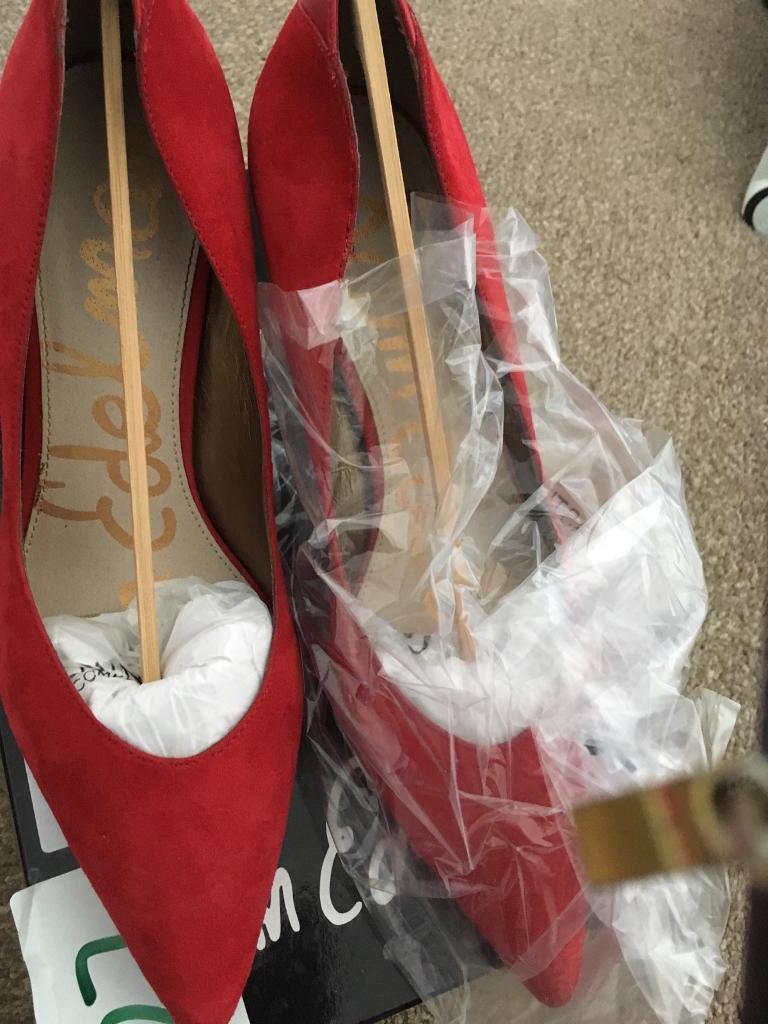 adf9a143fcecc Sam Edelman Designer Red Shoes size 40