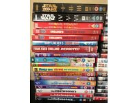 Loads of dvds few box sets Star Wars breaking bad inbetweeners home alone