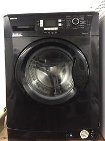 BEKO black good looking 8kg 1400spin washing machine cheap