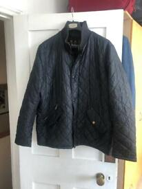 Barbour quilted jacket XXL