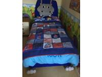 Rare silent night hippo single bed