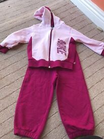 Girls Nike Tracksuit 12-18 months