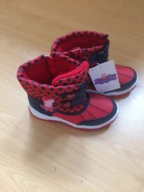 Peppa Pig boots size 11