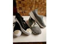 Size 4 , woman's shoes 2 pair