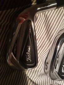 New Titleist AP2 716 irons 4-PW
