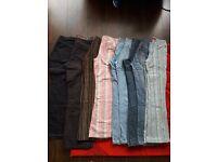 women's/ girls jean's, trousers 9 items, size 8