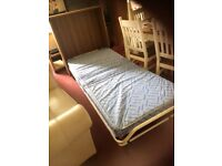 Fold down guest single bed