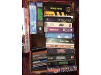 Vintage Old type PC games CD's Floppy Discs