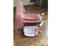 Baby Annabell cot bed & bag