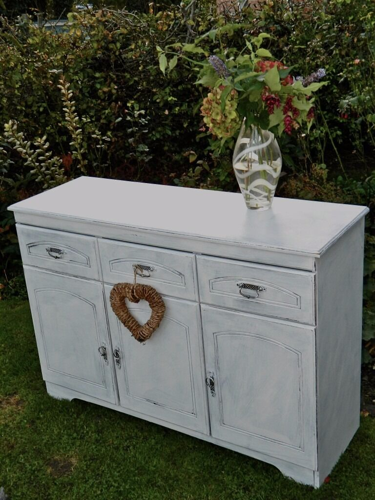 shabby chic sideboard / dresser