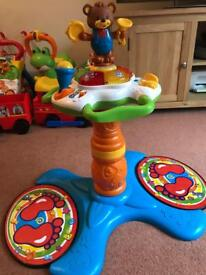 Vtec sit to stand dancing tower