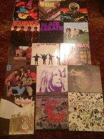 RECORDS WANTED IN ESSEX AND SURROUNDING AREAS , ROCK , POP , ETC LARGE OR SMALL COLLECTIONS