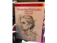 Drawing portraits book
