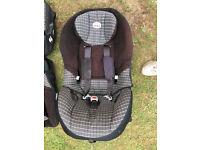 TWO BRITAX CHILD CAR SEATS