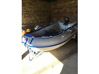 LodeStar small inflatable boat 260 NSA (ideal tender size) with 3.3 outboard motor