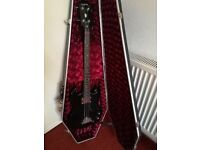 Epiphone EB-0 Bass Guitar with Coffin Case