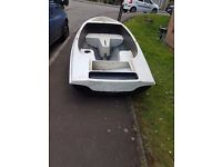 """Boat 15"""" Feet long. 5"""" wide. £150 ONO great fun. Light and easy to store,"""