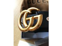 Gucci belt with packaging brand new stunning