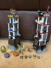 Mega Blocks Plasma Dragons Tower Bridge