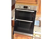 Indesit built in double oven 6340