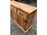 Very solid pine sideboard