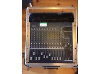 PA equipment - job lot - mixers, cases, monitors, amp, cables