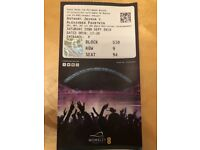 Anthony Joshua v povetkin ticket. sept 22nd collection or local delivery liverpool