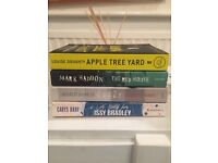 Big Selection of Fiction - Thrillers , literary, chick lit, romantic, contemporary