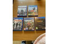 Ps4/ps5 games bundle