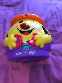 Fisher price laugh n learn cookie jar with 5 shapes