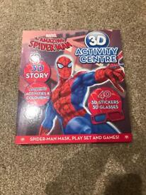 Spider man activity book