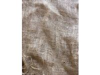 10 x Sheets Hessian