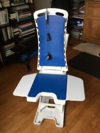 Akkulift Bathlift - Bellavita with battery power supply pack Little used. Very good condition.