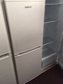 BEKO white good looking frost free A-class fridge freezer cheap bargain