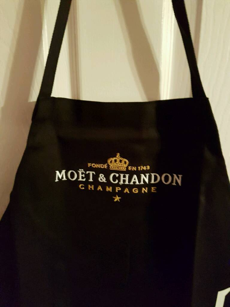White apron edinburgh - Moet Chandon Apron
